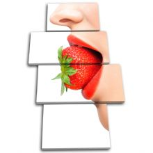 Sexy Lips Strawberry Food Kitchen - 13-1662(00B)-MP04-PO